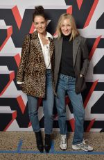 KATIE HOLMES at Zadig & Voltaire Fashion Show in New York 02/09/2020
