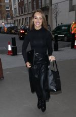 KATIE PIPER Arrives at BBC Studio in London 02/04/2020