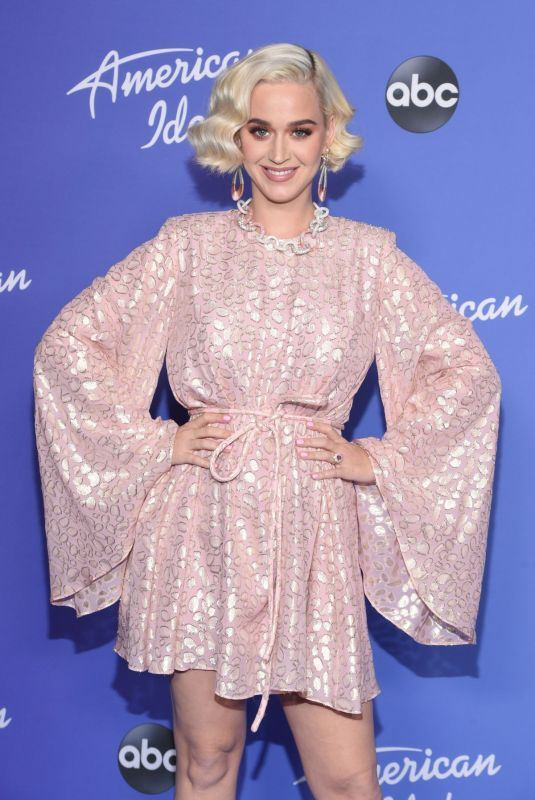 KATY PERRY at New American Idol Season Event in Hollywood 02/12/2020