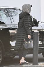 KATY PERRY Leaves an Office on Melrose Blvd 02/19/2020