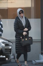 KATY PERRY Out and About in Los Angeles 02/19/2020