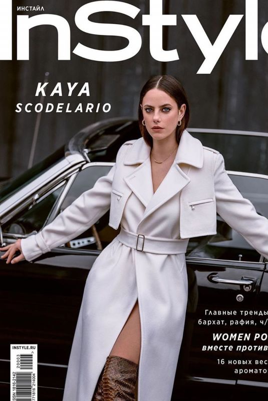 KAYA SCODELARIO in Instyle Magazine, Russia March 2020