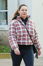 KELLY BROOK Out and About in London 02/12/2020