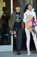 KELLY GALE Leaves Pilates Class in Venice Beach 02/14/2020