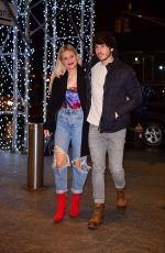 KELSEA BALLERINI and Morgan Evans at Nobu 57 in New York 02/10/2020