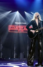 KELSEA BALLERINI at Country Heat for CRS 2020 in Nashville 02/19/2020