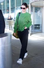 KENDALL JENNER at JFK Airport in New York 02/23/2020