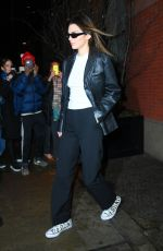 KENDALL JENNER Leaves Her Apartment in New York 01/13/2020