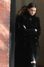 KENDALL JENNER Leaves Her Hotel in New York 02/08/2020