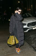 KENDALL JENNER Night Out in New York 02/09/2020