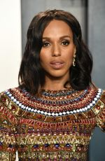 KERRY WASHINGTON at 2020 Vanity Fair Oscar Party in Beverly Hills 02/09/2020