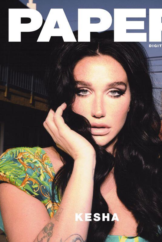 KESHA SEBERT for Paper Magazine, March 2020