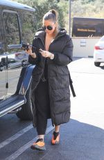 KHLOE KARDASHIAN Out and About in Calabasas 02/05/2020