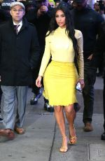 KIM KARDASHIAN Leaves Her Hotel in New York 02/05/2020