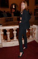 KIMBERLEY GARNER at Aadnevik Fashion Show at London Fashion Week 02/18/2020