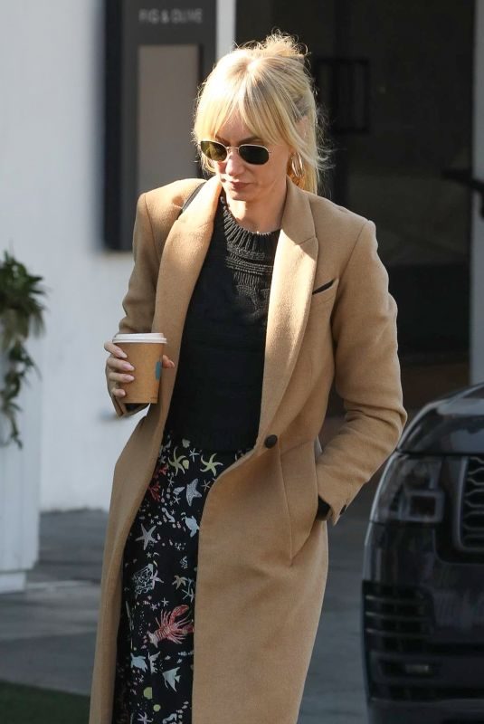 KIMBERLY STEWART Out for Coffee in Los Angeles 04/02/2020