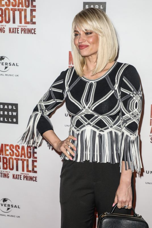 KIMBERLY WYATT at Message in a Bottle Press Night in London 02/19/2020