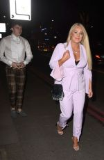 KIRSTY LEIGH PORTER Out in London 02/05/2020