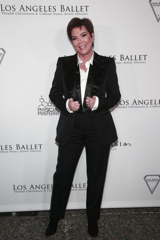 KRIS JENNER at Los Angeles Ballet Gala 2020 in Santa Monica 02/28/2020