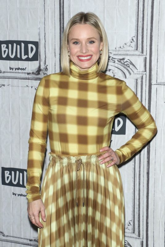 KRISTEN BELL at Build Series in New York 02/21/2020