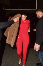 KYLIE JENNER Arrives at Nice Guy in West Hollywood 02/12/2020