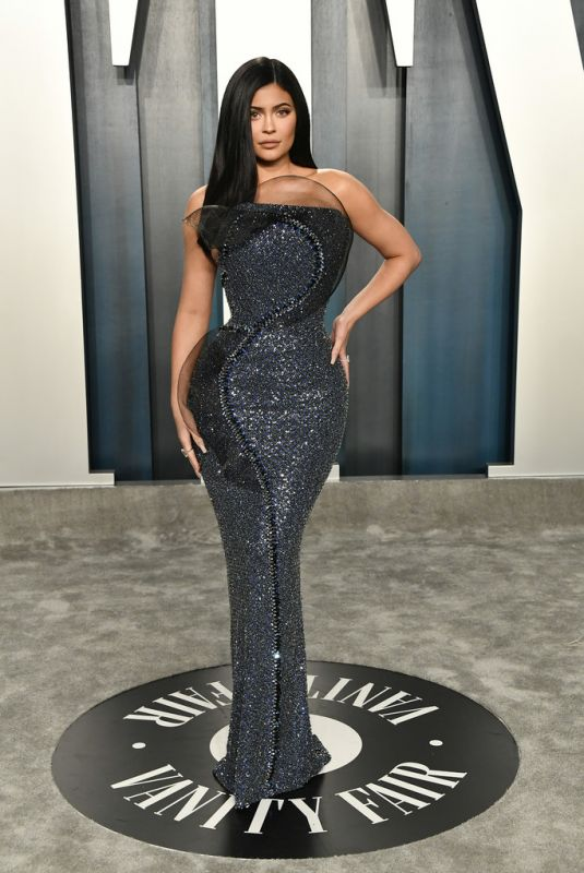 KYLIE JENNER at 2020 Vanity Fair Oscar Party in Beverly Hills 02/09/2020