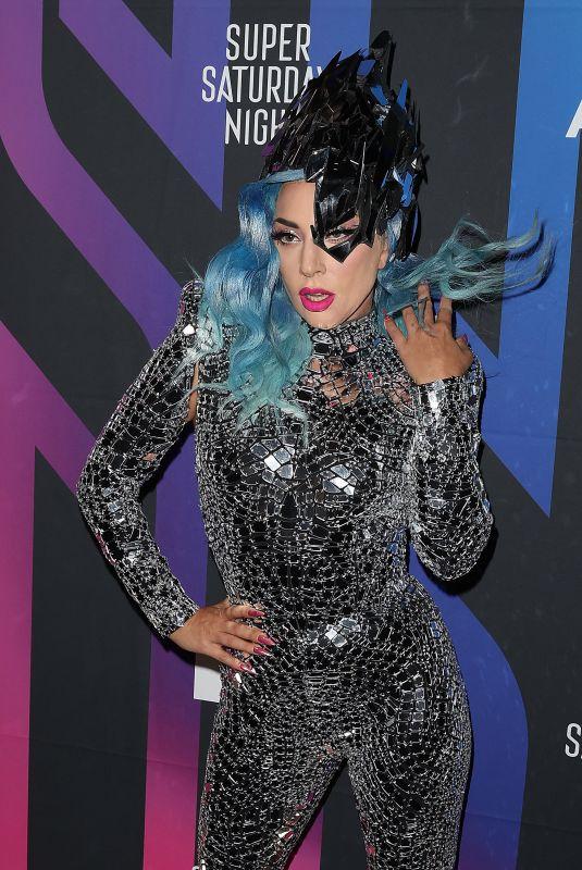 LADY GAGA at AT&T Super Saturday Night in Miami 02/01/2020