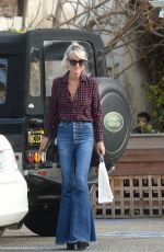 LAETICIA HALLYDAY Out for Breakfast in Los Angeles 01/30/2020