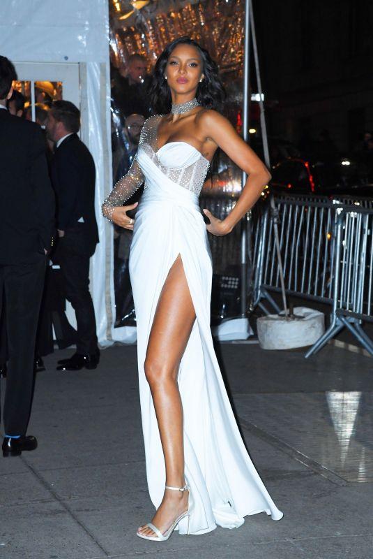 LAIS RIBEIRO Arrives at Amfar Gala in New York 02/05/2020