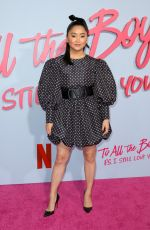 LANA CONDOR at To All the Boys: P.S. I Still Love You Premiere in Hollywood 02/03/20