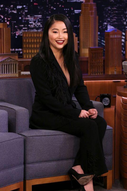 LANA CONDOR at Tonight Show Starring Jimmy Fallon 02/05/2020