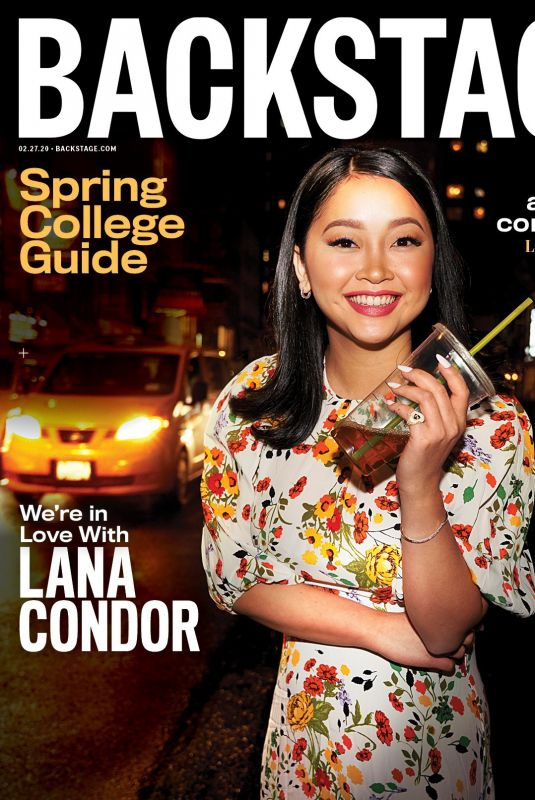 LANA CONDOR for Backstage Magazine, February 2020