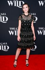 LARA MCDONNELL at The Call of the Wild Premiere in Los Angeles 02/13/2020