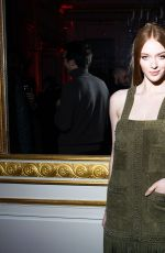 LARSEN THOMPSON at Baccarat Crystal Clear Event in Paris 02/27/2020