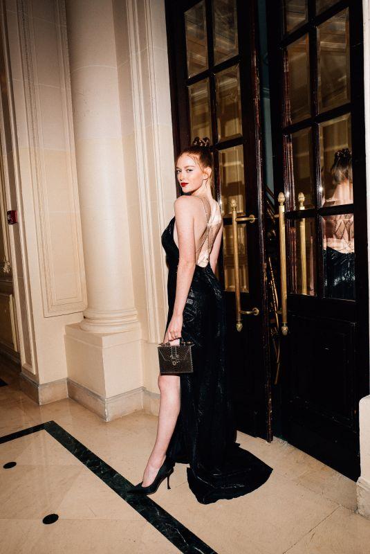 LARSEN THOMPSON at Redemption Fashion Show in Paris 02/28/2020