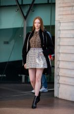 LARSEN THOMPSON Out and About in Milan 02/20/2020