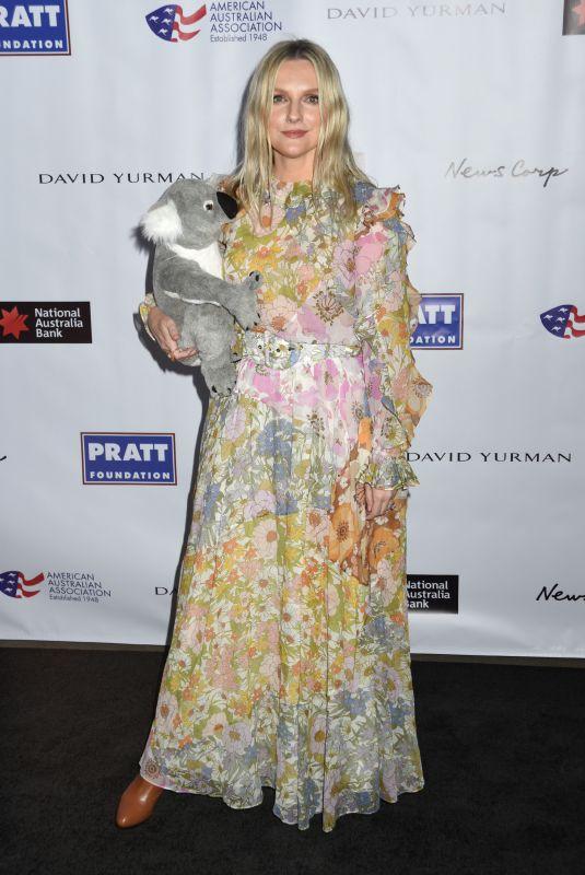 LAURA BROWN at American Australian Arts Awards in New York 01/30/2020