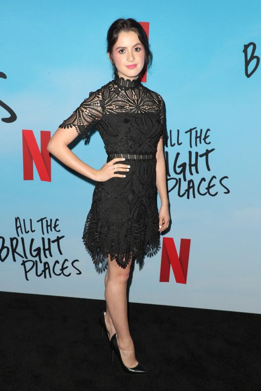 LAURA MARANO at All the Bright Places Special Screening in Hollywood 02/24/2020