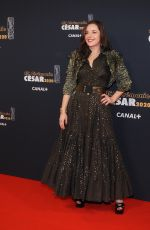LAURE CALAMY at Cesar Film Awards 2020 in Paris 02/28/2020