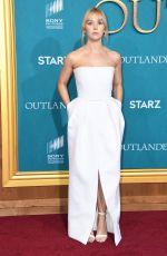 LAUREN LYLE at Outlander, Season 5 Premiere in Los Angeles 02/13/2020