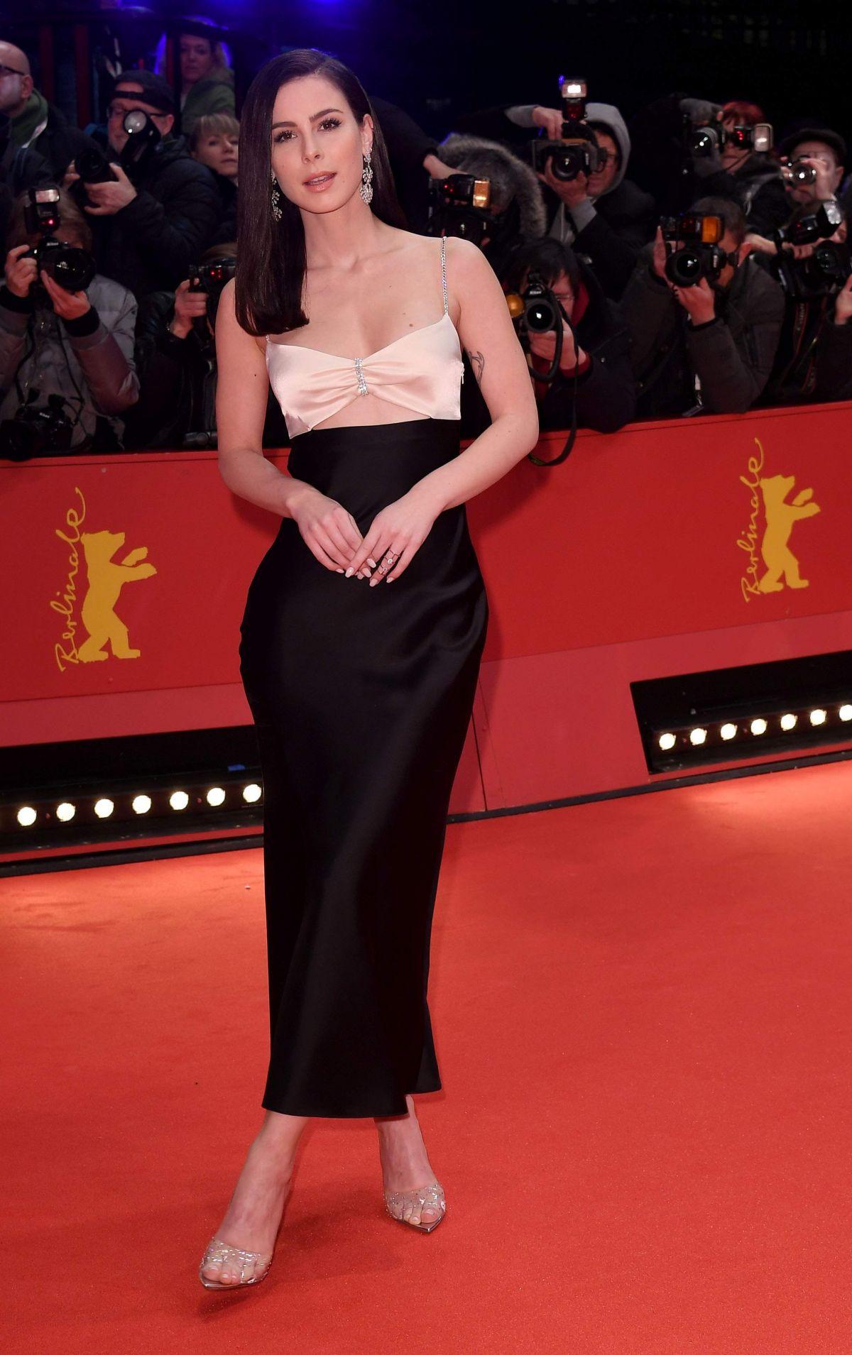 LENA MEYER-LANDRUT at Berlinale Opening Ceremony 02/20 ...
