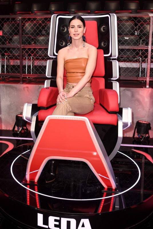 LENA MEYER-LANDRUT at The Voice 02/04/2020