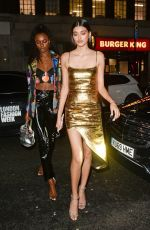 LEOMIE ANDERSON and NEELAM GILL Arrives at Love Magazine Party in London 02/17/2020