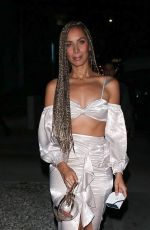 LEONA LEWIS Leaves Bare Minerals Party in West Hollywood 02/13/2020