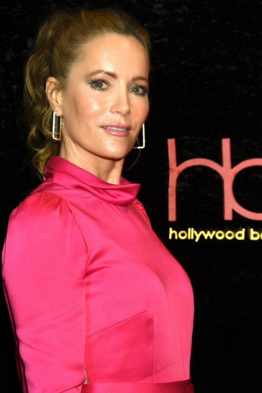 LESLIE MANN at Hollywood Beauty Awards 2020 in Los Angeles 02/06/2020