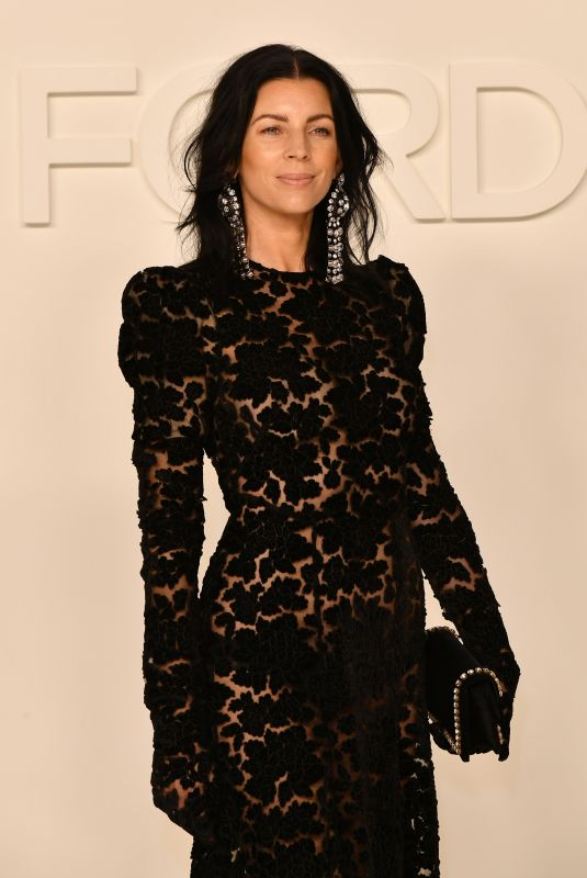 LIBERTY ROSS at Tom Ford Fashion Show in Los Angeles 02/07/2020