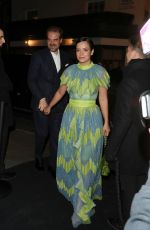 LILY ALLEN Arrives at Charles Finch and Chanel Pre-Bafta Party in London 02/01/2020