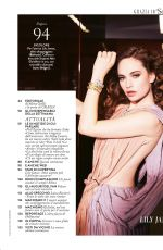 LILY JAMES in Grazia Magazine, Italy February 2020