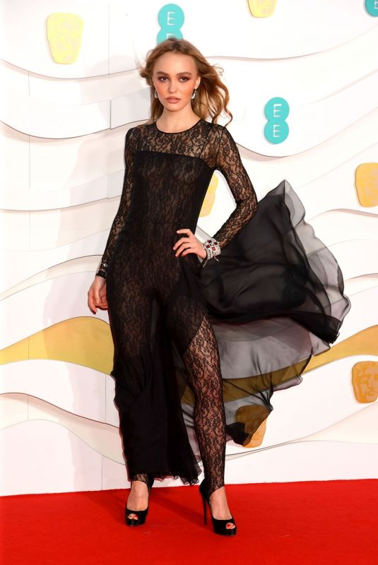 LILY-ROSE DEPP at EE British Academy Film Awards 2020 in London 02/01/2020
