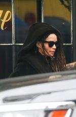 LISA BONET and Jason Momoa Leaves Their Hotel in New York 02/04/2020